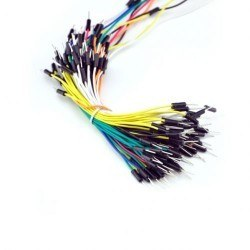 Robotistan - Jumper Wires M-M 65 Piece Mix Package