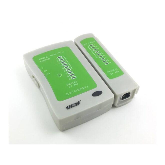 Kablo Test Cihazı (RJ11 + RJ45)