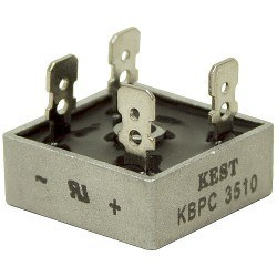 GI - KBPC3510 - 1000V 35A Bridge Fairchild Diode