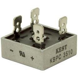 GI - KBPC3510 - 1000 V 35 A Masa Tipi Köprü Diyot