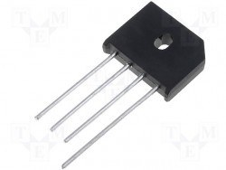 GI - KBU4M - 1000V 4A Bridge Rectifier Diode