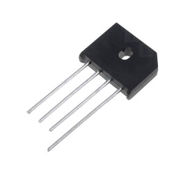 GI - KBU6M - 1000V 6A Bridge Rectifier Diode