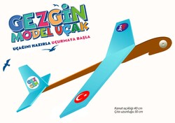 Kendin Yap Gezgin Model Uçak Seti - Thumbnail
