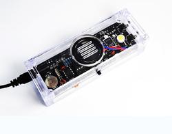 Kendin Yap - Masa Saati, Sıcaklık Sensörlü - Beyaz - Thumbnail