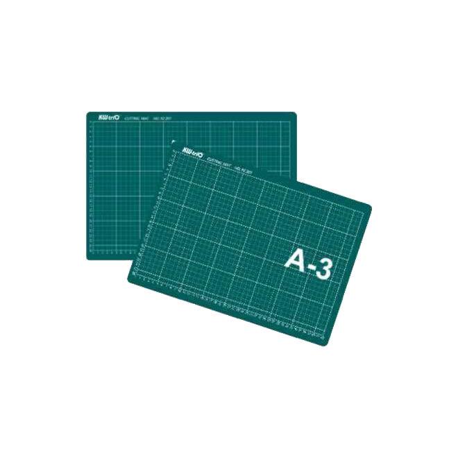 Kesme Matı A3 (30x45) - Hobi Kesim Altlığı (Yeşil)