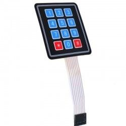 Robotistan - 3x4 Membran Tuş Takımı - Keypad