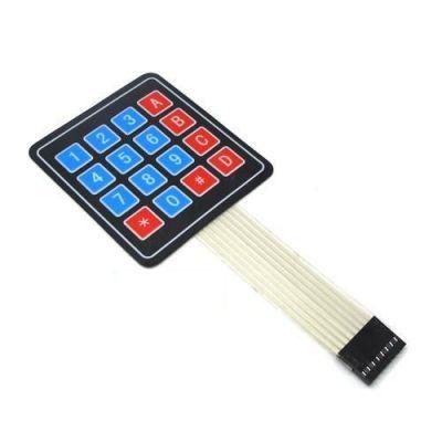 4x4 Membran Tuş Takımı - Keypad