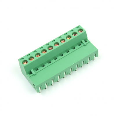 KF2EDGR-5.08-10P - 90 Degree Interlaced Vertical Screw Terminal
