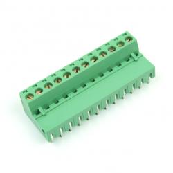 KF2EDGR-5.08-12P - 90 Degree Interlaced Vertical Screw Terminal - Thumbnail