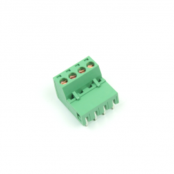 KAIFENG - KF2EDGR-5.08-4P - 90 Degree Interlaced Vertical Screw Terminal