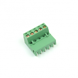 KAIFENG - KF2EDGR-5.08-5P - 90 Degree Interlaced Vertical Screw Terminal