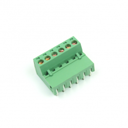 KAIFENG - KF2EDGR-5.08-6P - 90 Degree Interlaced Vertical Screw Terminal