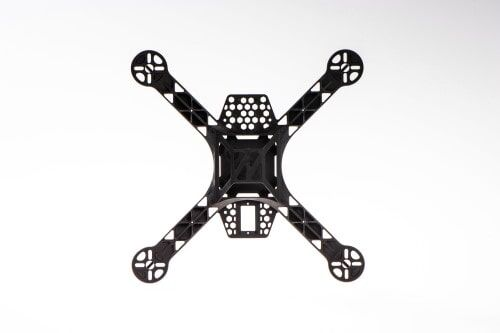 KK260 Siyah Naylon 4 Eksenli Quadcopter Gövde (Frame) Takımı