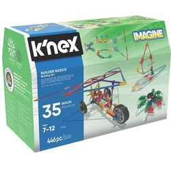 K′NEX - K'NEX 35 Builder Basics Building Set 446 Pc