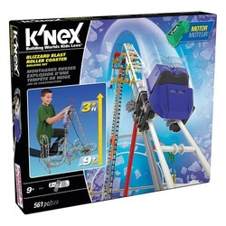 K′NEX - K'NEX Blizzard Blast Roller Coaster Set ( Motorlu )