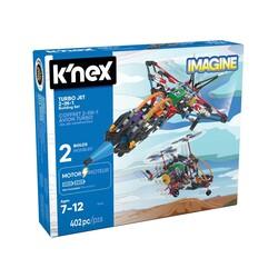 K′NEX - K'NEX Turbo Jet 2-in-1 Building Set