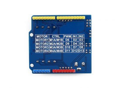 L293 DC/Step Motor Driver Shield for Arduino