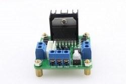 L298 Çift Motor Sürücü Kartı - Dual Motor Driver (Yeşil PCB) - Thumbnail