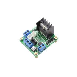 L298N Çift Motor Sürücü Kartı - Dual Motor Driver (Yeşil PCB) - Thumbnail