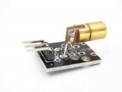 5 mW Lazer Modülü (5 V, 650 nm) - Thumbnail