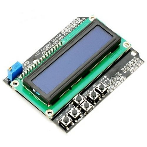 LCD and Key Pad Shield Compatible with Arduino