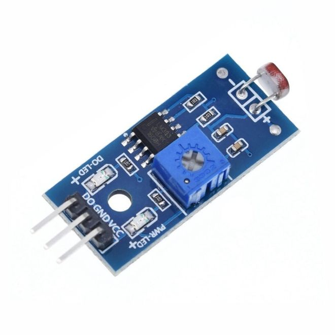 LDR Light Sensor Board (3 Pin)