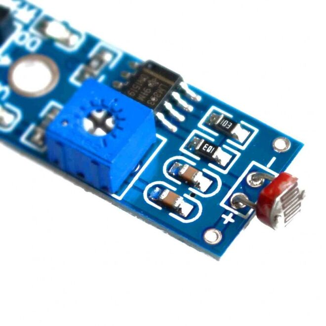 LDR Light Sensor Board (4 Pin)
