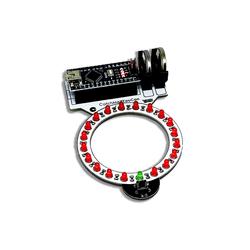 Circle Electronic - Ledring (Pil ve Arduino Nano Dahil Değil)