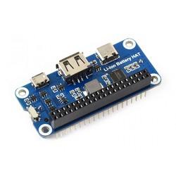Li-ion Batarya HAT Raspberry Pi Uyumlu - Thumbnail