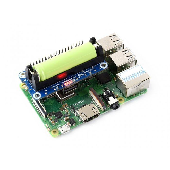 Li-ion Battery Pack For Raspberry Pi
