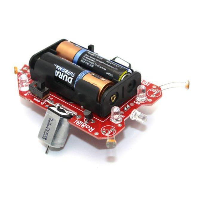 Light Follower Robot Kit - ROBIBI (Disassembled)