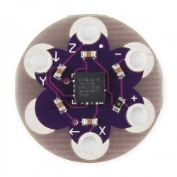 LilyPad Accelerometer - 3 Eksenli İvme Ölçer ADXL335 - Thumbnail