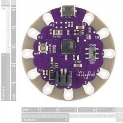 LilyPad Arduino USB (ATmega 32u4 işlemcili) - Thumbnail