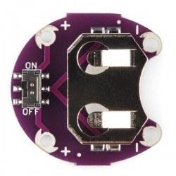 LilyPad Coin PCB - LilyPad CR2032 Batarya Yuvası - Thumbnail