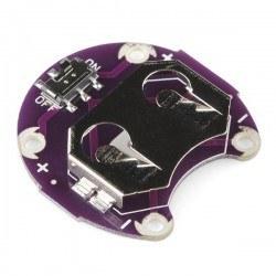 Lilypad - LilyPad Coin PCB - LilyPad CR2032 Batarya Yuvası