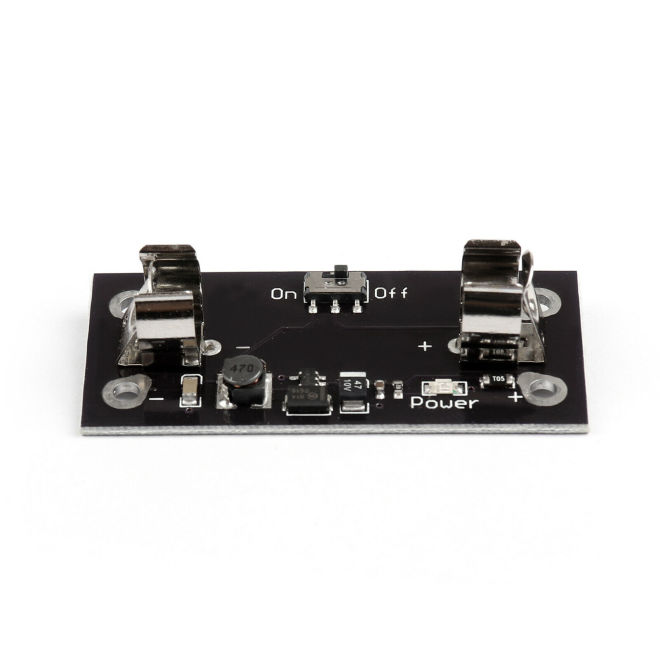 LilyPad Compatible Power Supply - AAA Battery Pack 5V