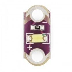 Lilypad - LilyPad LED - White - 5 Pieces