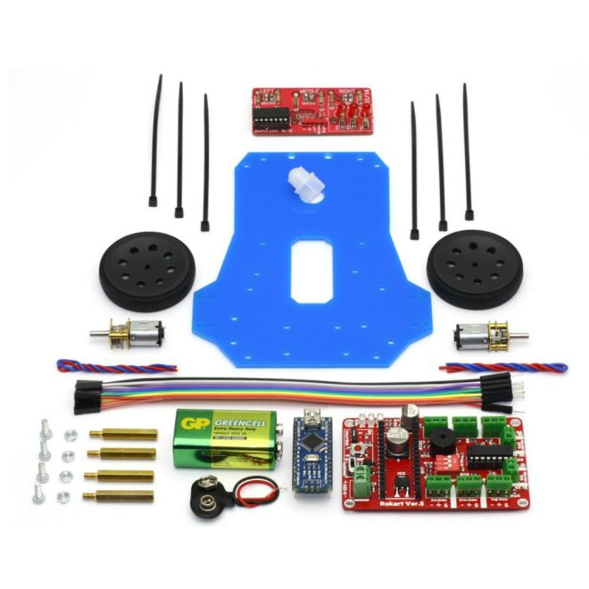 Line Follower Robot Kit - Çigor (Assembled)