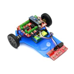 Line Follower Robot Kit - Çigor (Disassembled) - Thumbnail