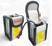 LiPo Saklama Çantası 64x50x125 mm - Thumbnail