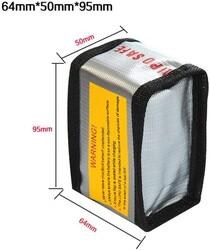 LiPo Saklama Çantası - 64x50x95 mm - Thumbnail
