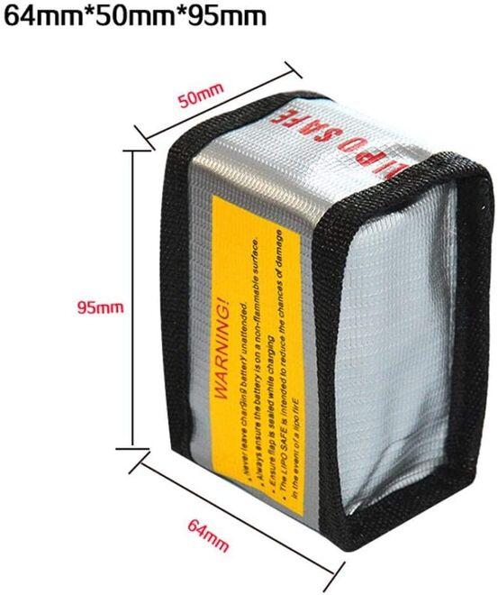 LiPo Saklama Çantası - 64x50x95 mm