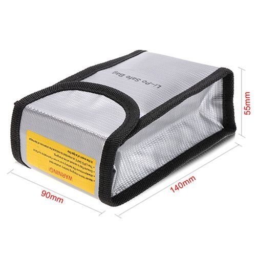 LiPo Saklama Çantası - 90x55x140 mm
