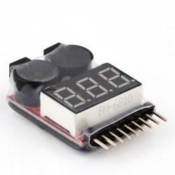 Robotistan - Lipo Seviye Ölçer ve Alarm Modülü
