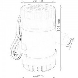 Liquid Pump - 750GPH (12v) - Thumbnail