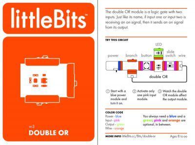 LittleBits Çift Or Kapısı