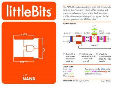 LittleBits NAND