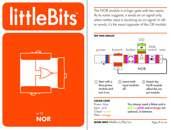 Buy LittleBits NOR with cheap price