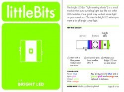 LittleBits Parlak Led - Thumbnail