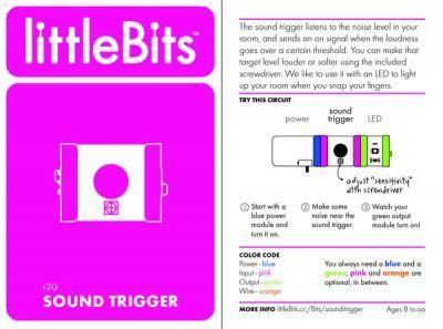 LittleBits Ses Tetikleyici